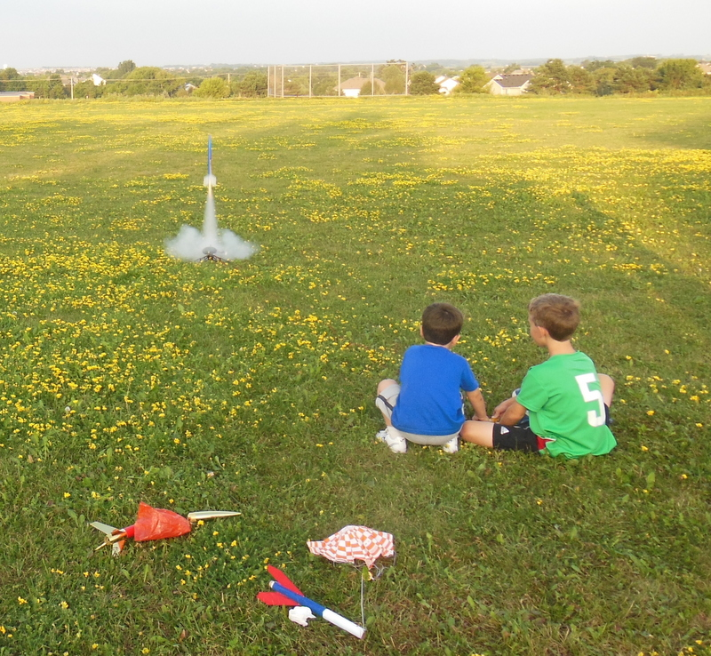 Successful Rocket Launch