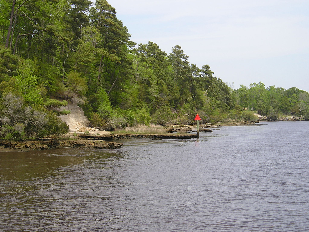 Waccamaw River 'rock pile'