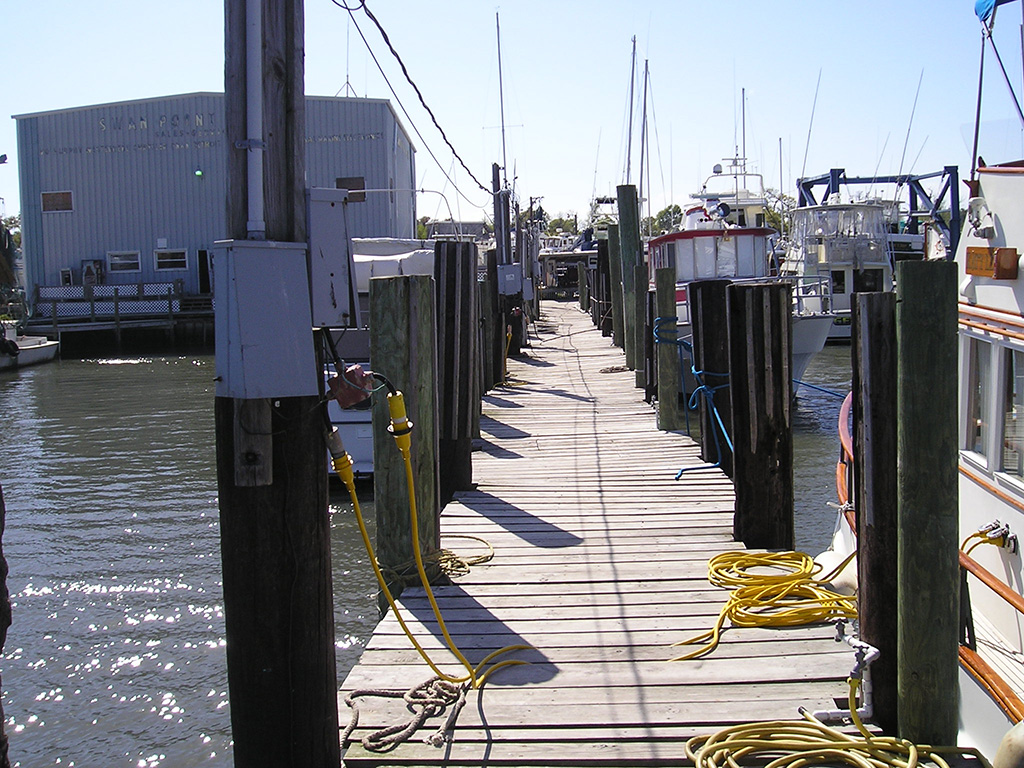 Swan Point Marina at Snead's Ferry