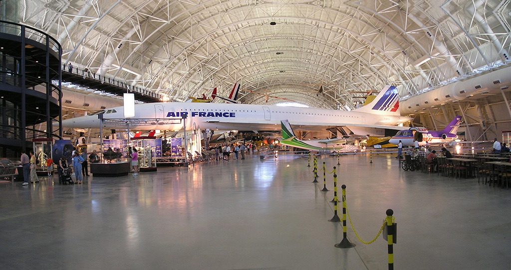 Smithsonian Air and Space Museum at Dulles Airport