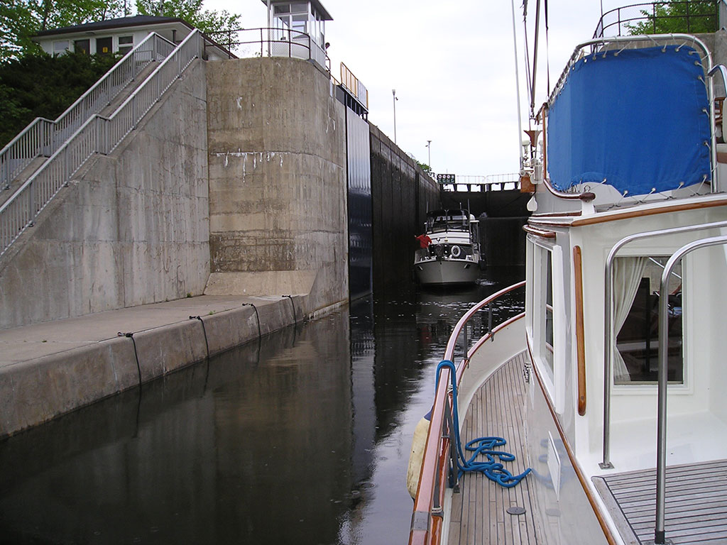 locks on the Trent