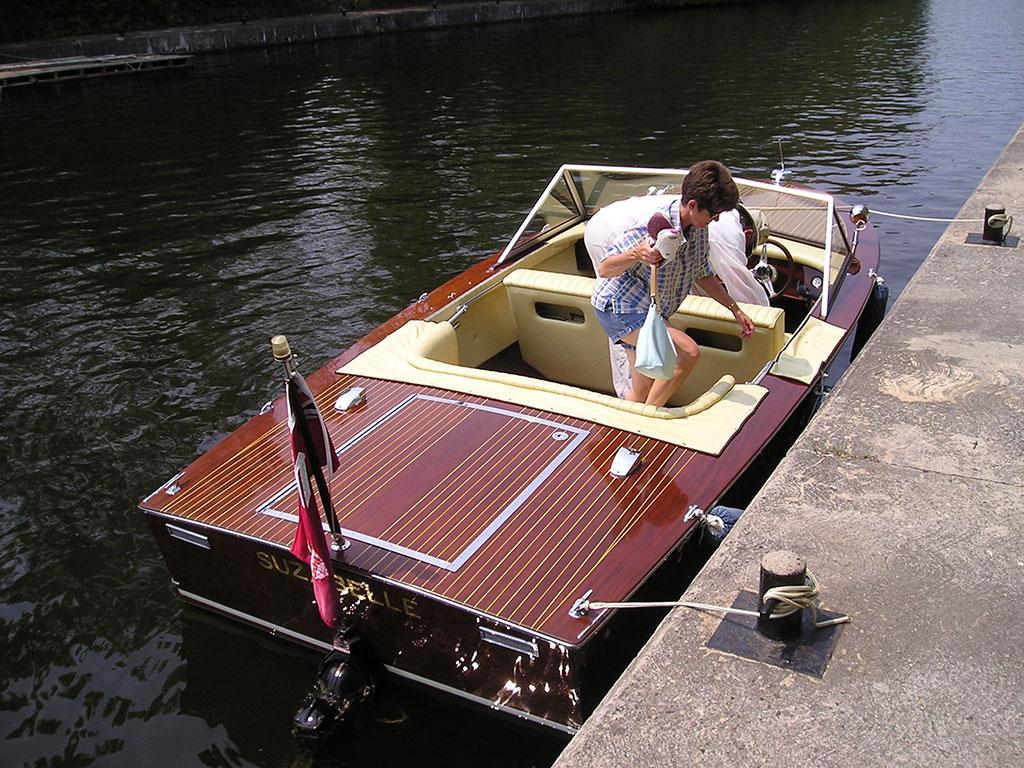 1970 wooden Grevette