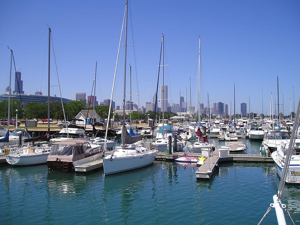 Chicago marina