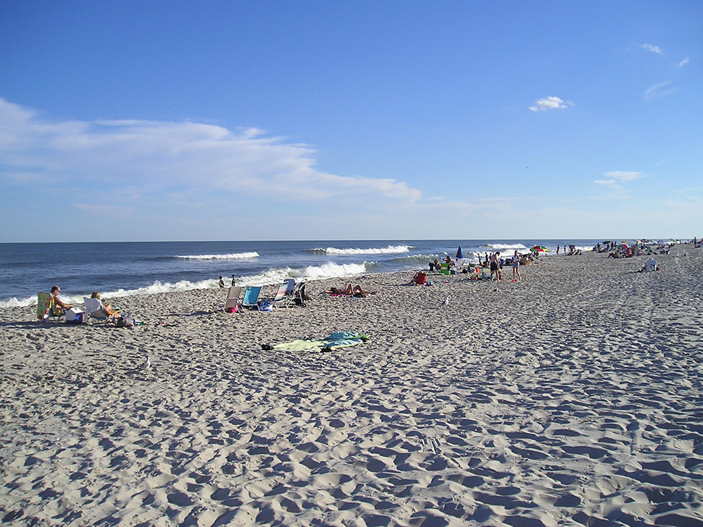 Beach at Atlantic City