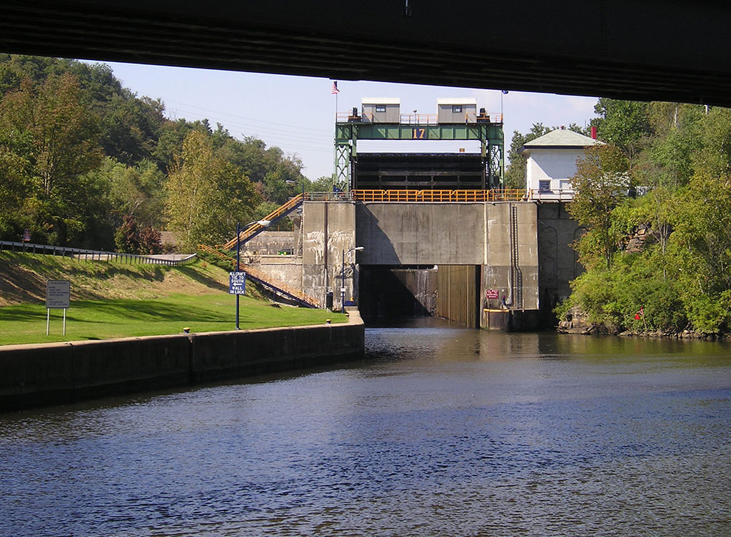 Lock at Little Falls