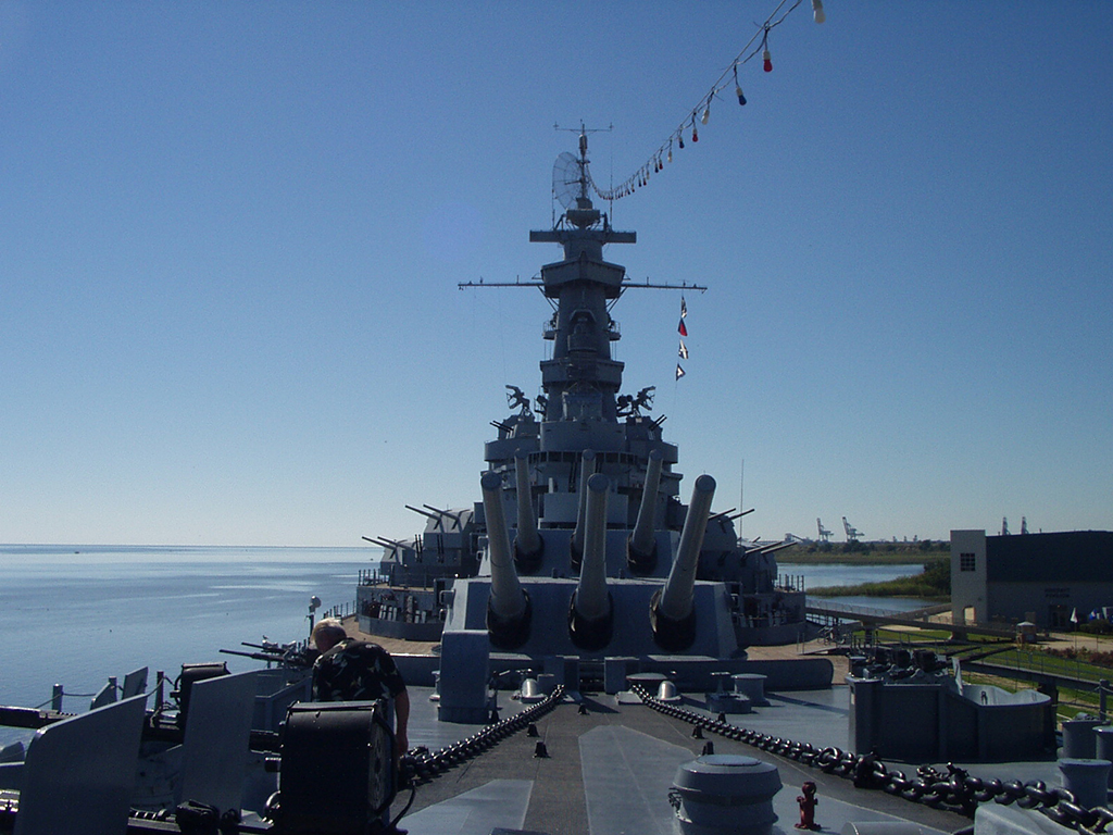 USS Alabama at Battleship Park