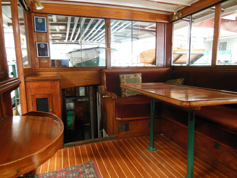 Deck House looking aft