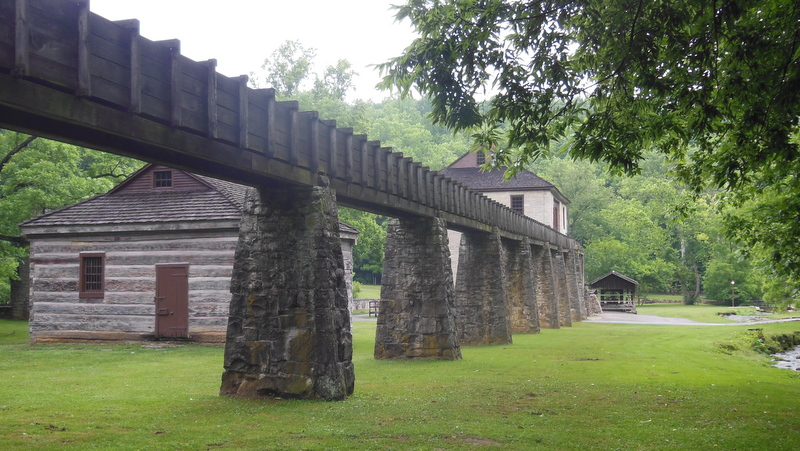 Grist Mill Flume