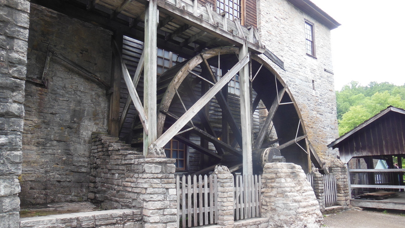 26 Ft Diameter Water Wheel