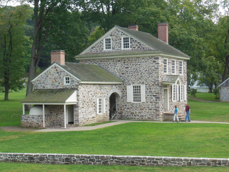 George Washington Lived Here