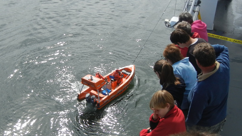 Rescuing the rescue boat