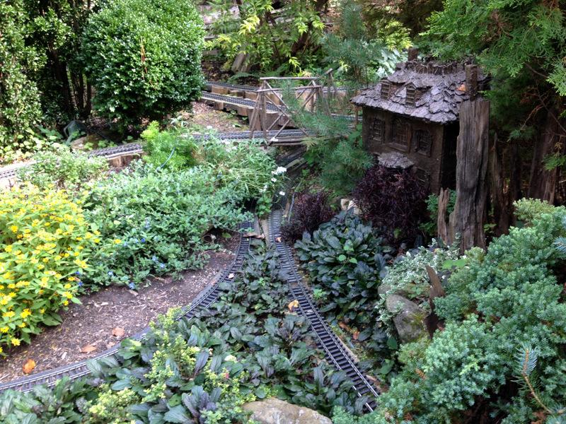 Garden Railway at Morris Arboretum