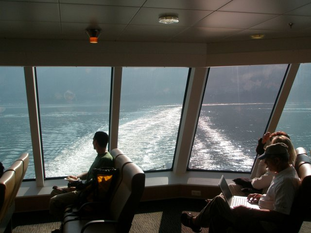 Vancouver Island Ferry Lounge
